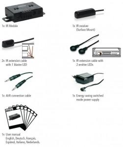 IR Control 10 Xtra set contents